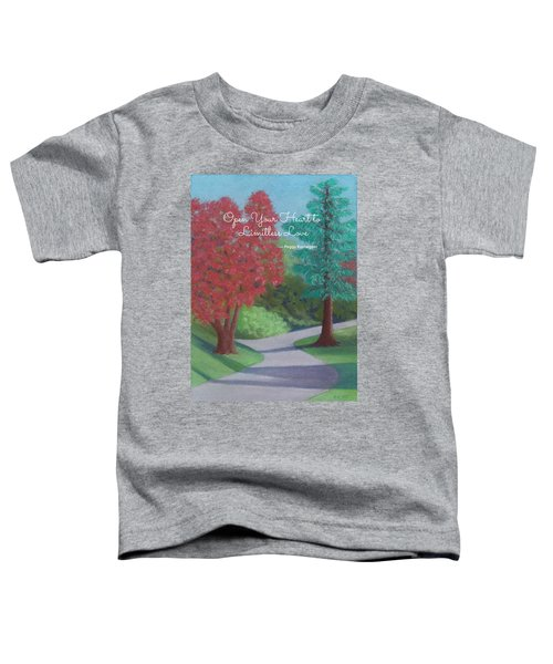 Waking Up - With Quote Toddler T-Shirt