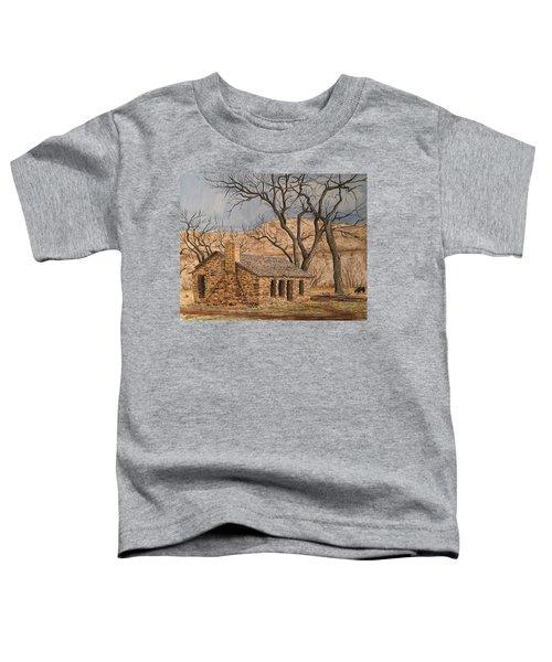 Walker Homestead In Escalante Canyon Toddler T-Shirt