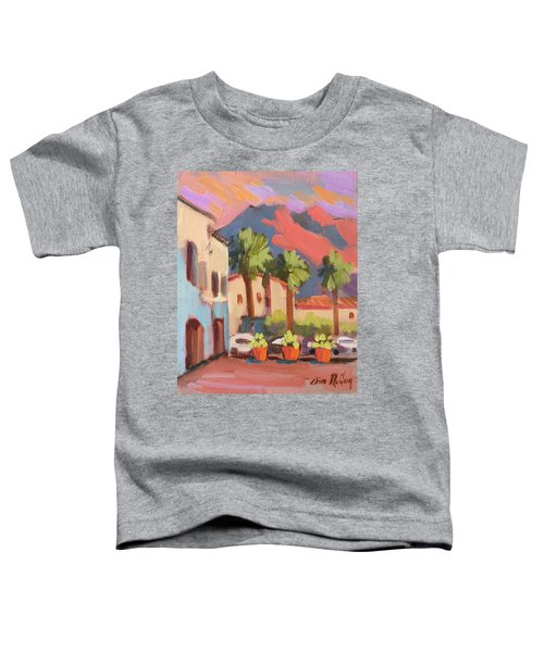 Walking Area In Old Town La Quinta Toddler T-Shirt