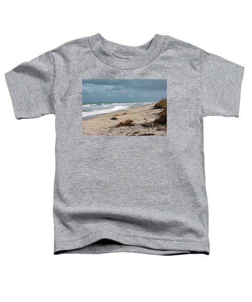 Walks On The Beach Toddler T-Shirt