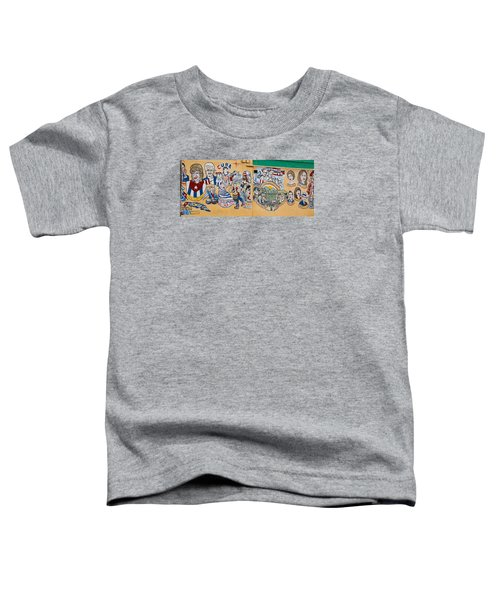 Wall Of Cuba Toddler T-Shirt