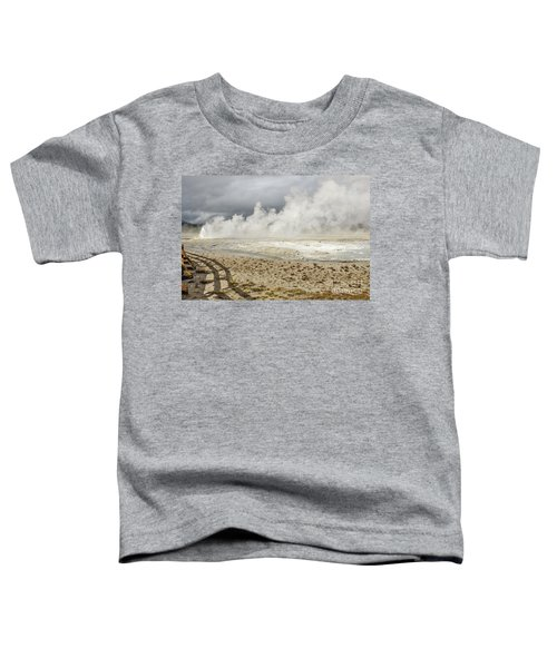 Wall Of Steam Toddler T-Shirt