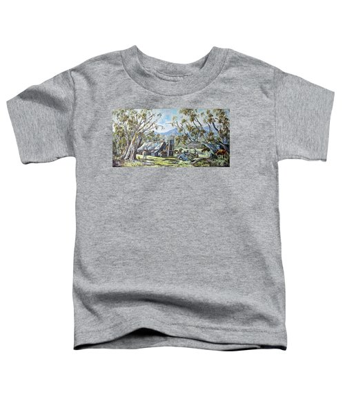 Wallace Hut, Australia's Alpine National Park. Toddler T-Shirt