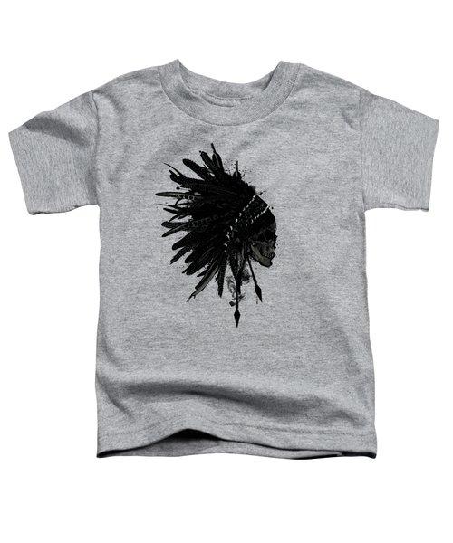 Warbonnet Skull Toddler T-Shirt