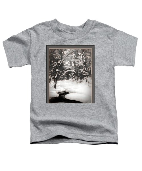 Warmth Of A Winter Day Toddler T-Shirt