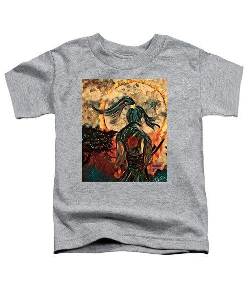 Warrior Moon Toddler T-Shirt