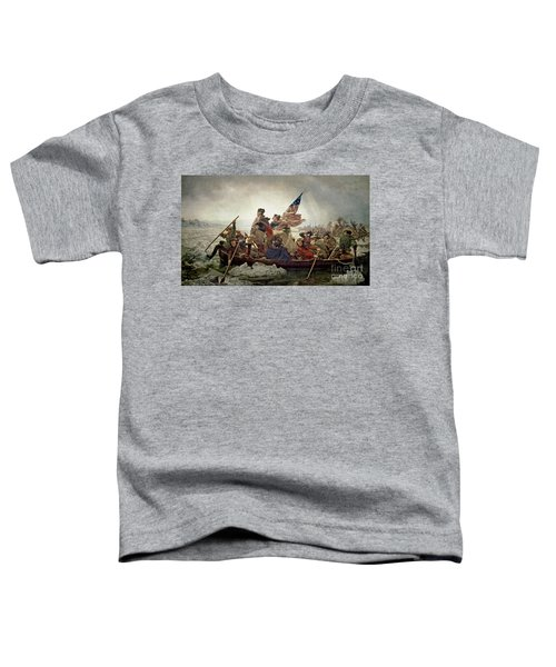 Washington Crossing The Delaware River Toddler T-Shirt