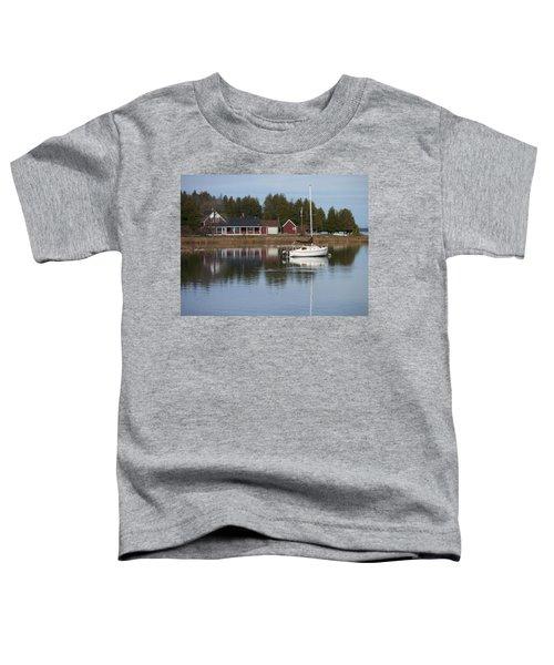 Washington Island Harbor 4 Toddler T-Shirt