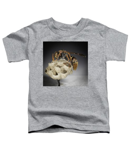 Wasp On A Nest Toddler T-Shirt
