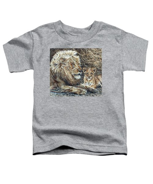 Watching And Waiting Toddler T-Shirt