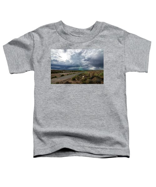 Watching The Storms Roll By Toddler T-Shirt