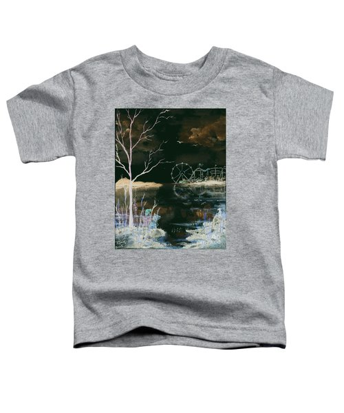 Watching The World Go Round Inverted Toddler T-Shirt