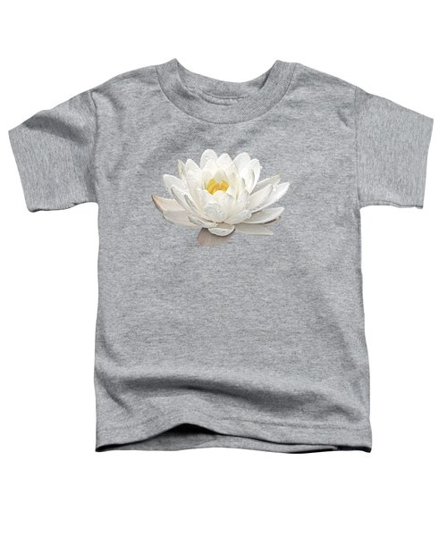 Water Lily Whirlpool Toddler T-Shirt by Gill Billington
