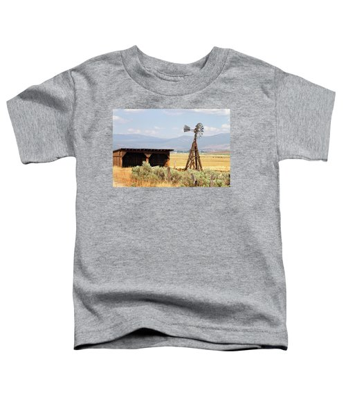 Water Pumping Windmill Toddler T-Shirt