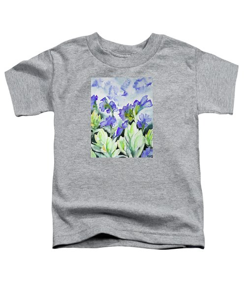 Watercolor - Rocky Mountain Wildflowers Toddler T-Shirt