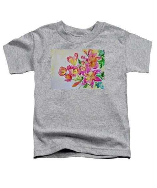 Watercolor Series No. 225 Toddler T-Shirt