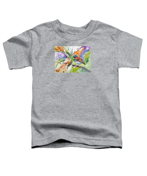 Watercolor - Spotted Antbird Toddler T-Shirt