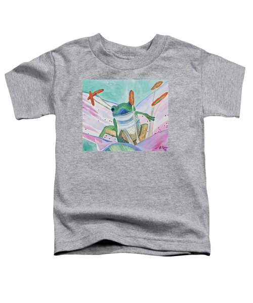 Watercolor - Tree Frog Toddler T-Shirt