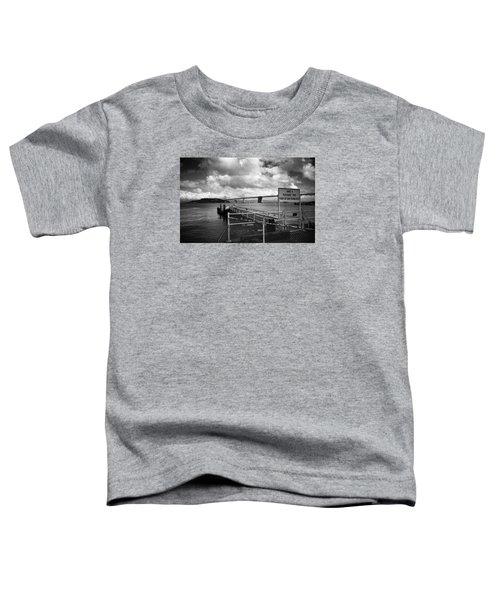 Waterfront San Francisco Toddler T-Shirt