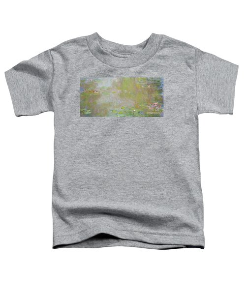 Waterlilies At Giverny Toddler T-Shirt
