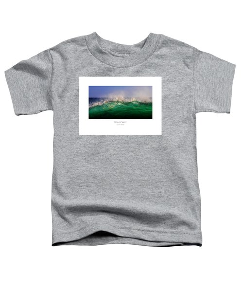 Wave Crest Toddler T-Shirt