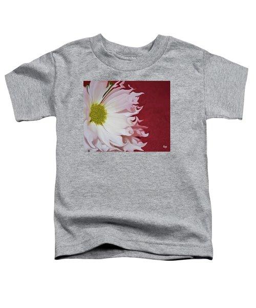 Waves Of White Toddler T-Shirt