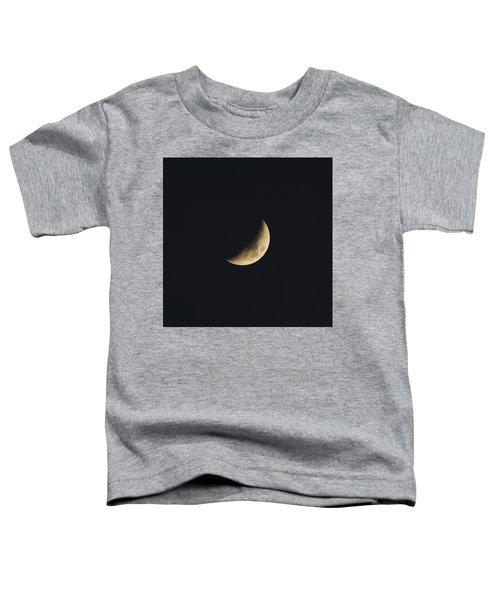 Waxing Crescent Spring 2017 Toddler T-Shirt