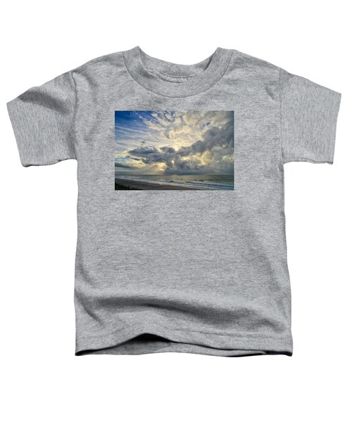 Weather Over Topsail Beach 2977 Toddler T-Shirt