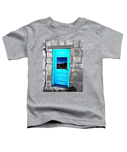 Weathered Blue Toddler T-Shirt