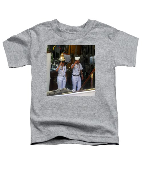 Welcome Aboard The Gloria Toddler T-Shirt