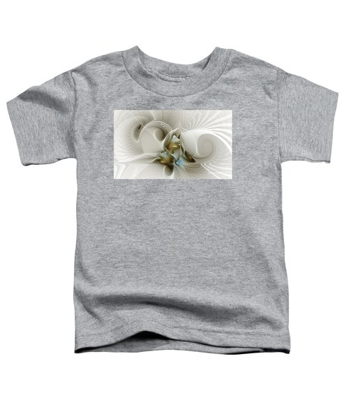 Welcome To The Second Floor-fractal Art Toddler T-Shirt