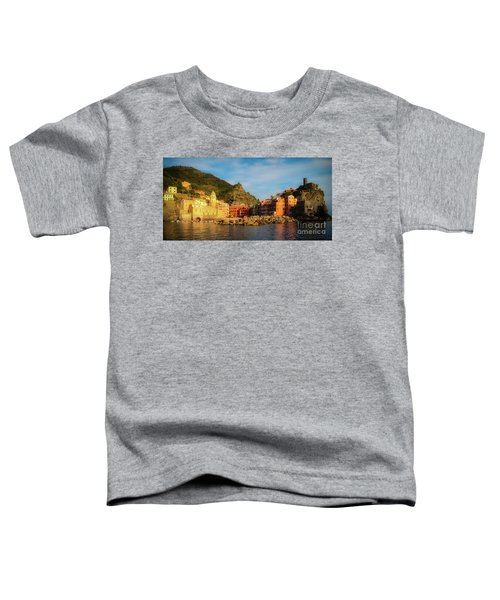 Welcome To Vernazza Toddler T-Shirt