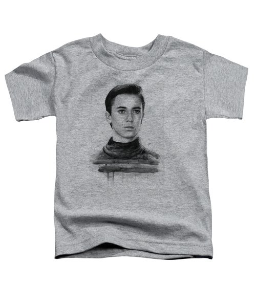 Wesley Crusher Star Trek Fan Art Toddler T-Shirt