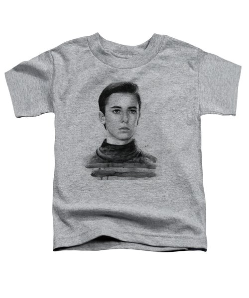 Wesley Crusher Star Trek Fan Art Toddler T-Shirt