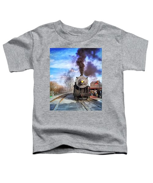Western Maryland Steam Engine Toddler T-Shirt
