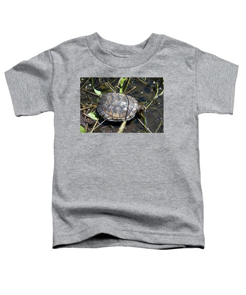Western Pond Turtle, Actinemys Marmorata Toddler T-Shirt