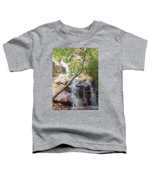 Western Side Of Etiwanda Falls Toddler T-Shirt