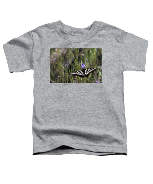 Western Tiger Swallowtail Toddler T-Shirt