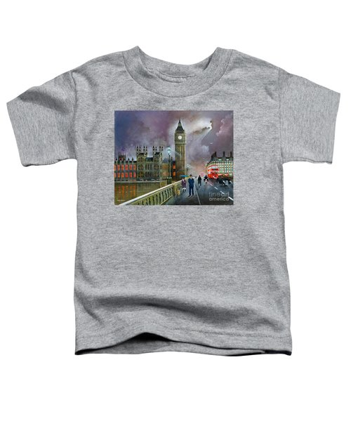 Westminster Bridge Toddler T-Shirt