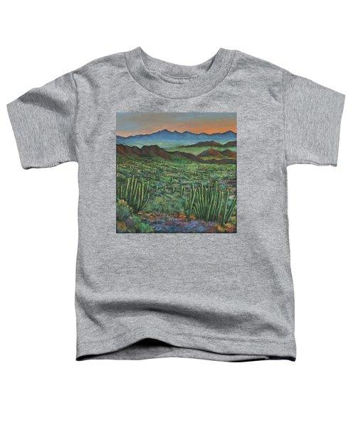 Westward Toddler T-Shirt by Johnathan Harris