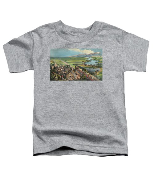 Westward The Course Of The Empire Takes Its Way Toddler T-Shirt