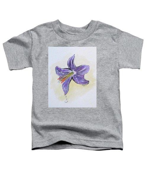 Wet Flower Toddler T-Shirt
