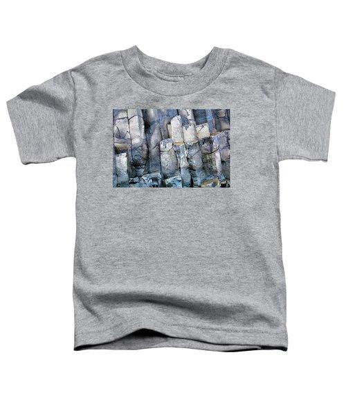 Toddler T-Shirt featuring the photograph Wet Rocks 2 by Hitendra SINKAR