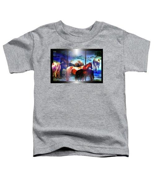 What  Horses Dream Toddler T-Shirt