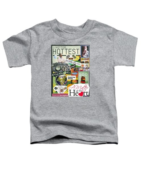 What's In Your Heart Toddler T-Shirt