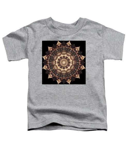 Wheel Of Life Mandala Toddler T-Shirt
