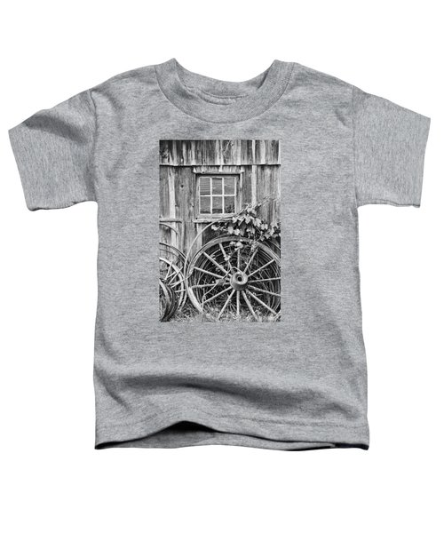 Wheels Wheels And More Wheels Toddler T-Shirt