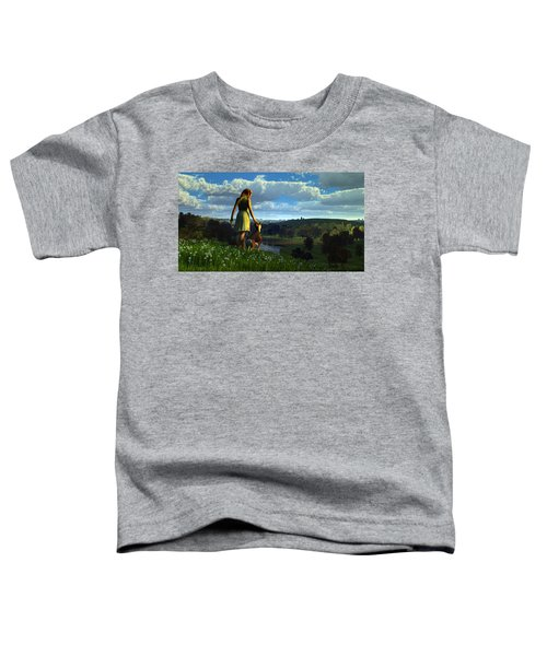 When The Sparrows Sing Toddler T-Shirt