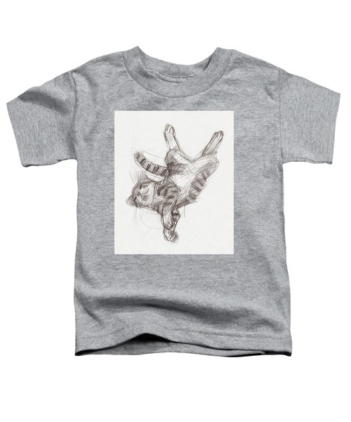 Yoga Cat Toddler T-Shirt