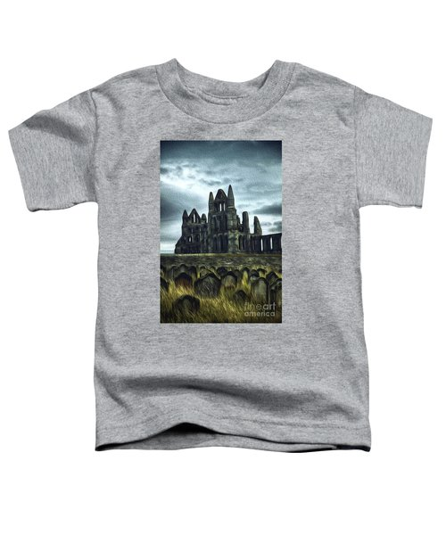 Whitby Abbey, England Toddler T-Shirt